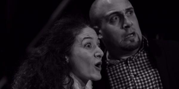 Le médecin malgré lui, mise en scène Daniela Morina Pelaggi. Avec Fabio Ferretti (Sganarelle) et Daniela Morina Pelaggi (Valère)