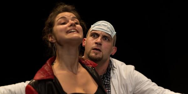 Le médecin malgré lui, mise en scène Daniela Morina Pelaggi. Avec Fabio Ferretti et Lora Zanasco