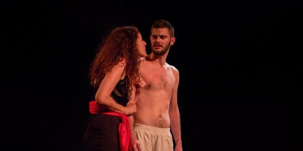 Dans les entrailles de la terre (où les hommes cachent leur misère), avec Daniela Morina Pelaggi et Christopher Caulier
